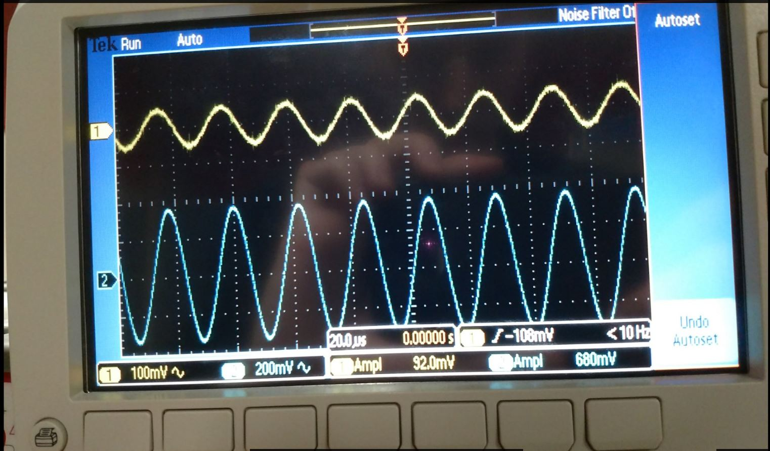 Lab Of A Noninverting Amplifier For Given Input Waveform And Gain The Non Inverting Op Amp With 10 At 1khz