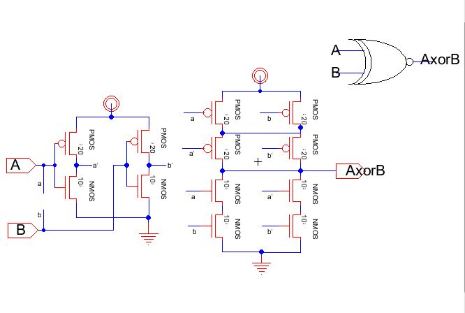 full adder schematic  | cmosedu.com