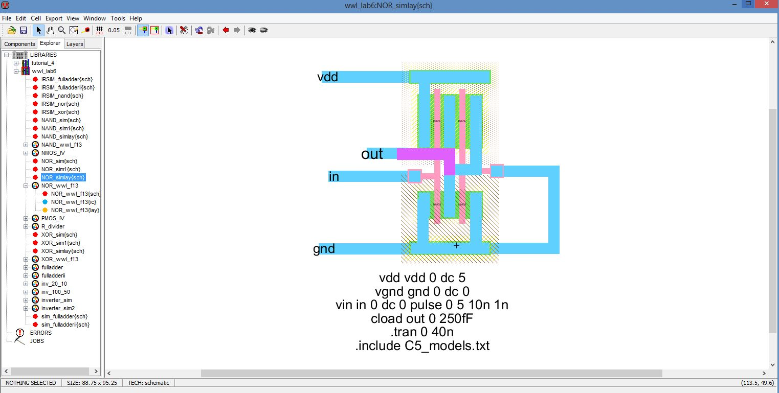 Lab Circuit Fornand Gate Here Is My Nand I Am Not Sure If It39s P10