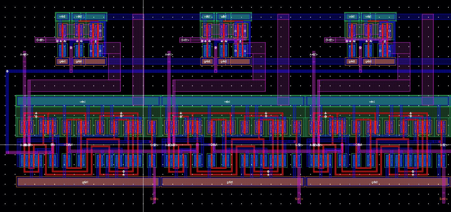 Lab The Following Adder Subtractor Circuit An 8 Bit Images Layout 8adder Left