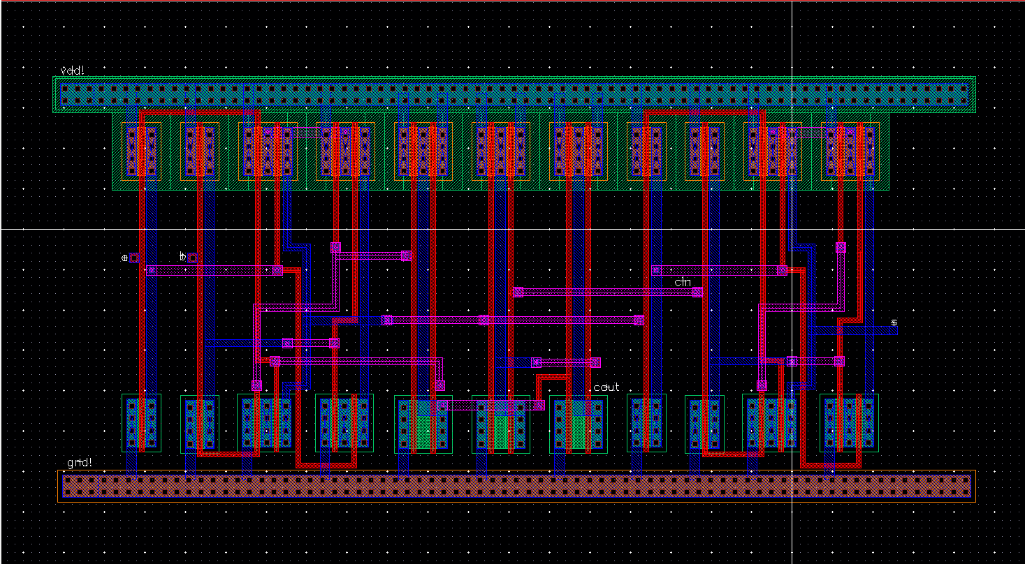 Lab 6 Ee 421l Spring 2015 Full Adder Using Nand Or Nor Logic In This Case By Stringing Together Multiple Gates We Start To Have Propagation Delays The Overall Device