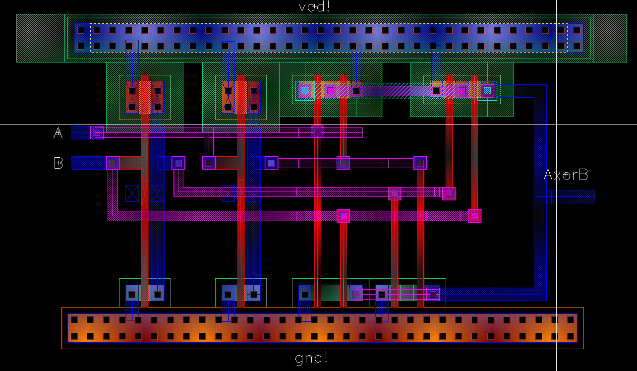 Project 9 Bit Even Parity Checker Generator Logic Diagram The Instantiates 8 Xors And An Inverter Which Can Be Laid Out In A 2x4 Array With Inputs D0 7 On Left Check Right