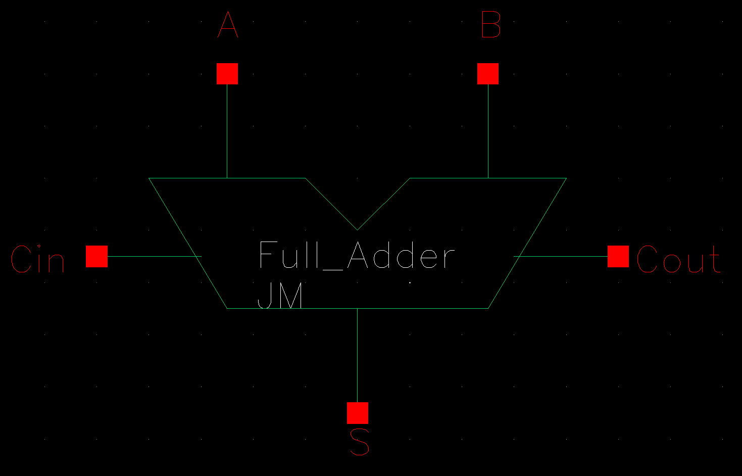 Lab Here Is A Block Diagram Of 1bit Full Adder Http Jbaker Courses Ee421l F16