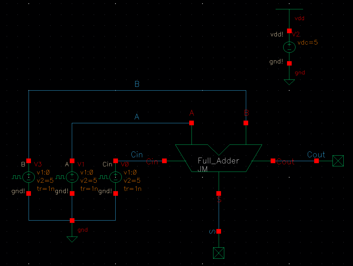 Lab Logic Diagram Half Adder Schematic Http Jbaker Courses Ee421l F16